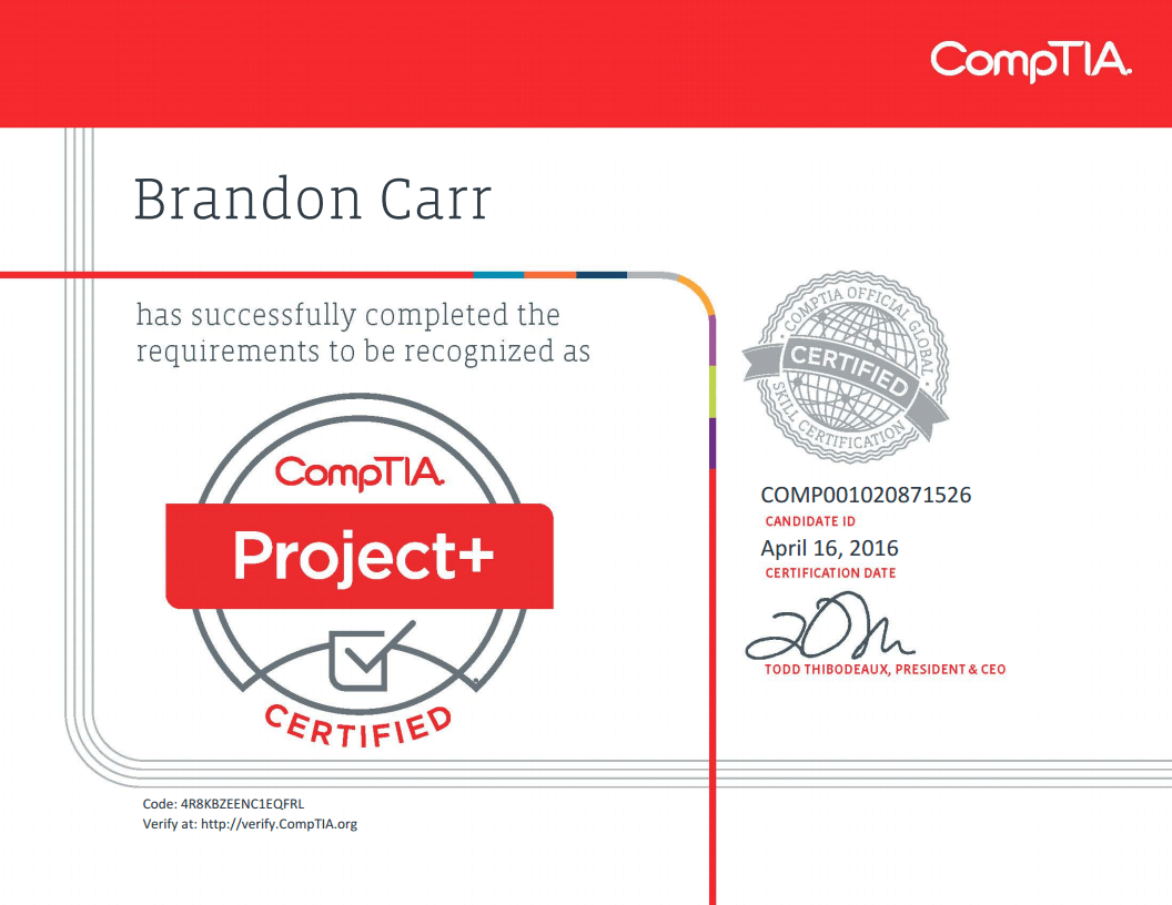 It support specialist in orange ct brandon carr comptia project xflitez Image collections